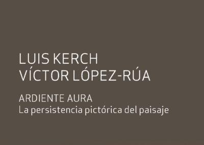 """Catálogo de la exposición """"Ardiente Aura""""."""